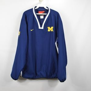 NIKE Nike XL Michigan Wolverines Hockey Jacket